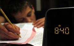 Homework > sleep