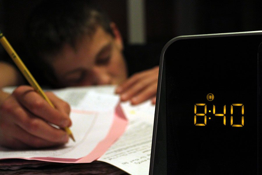 One problem with an excessive workload is that students can lose sleep. This can affect their academic performance.