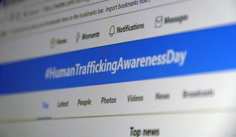 National Slavery and Human Trafficking Month