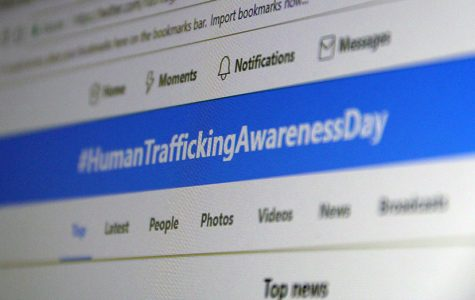 January is National Slavery and Human Trafficking Month. January 11 was was Human Trafficking Awareness Day and hundreds of people showed their support by tweeting this hashtag.