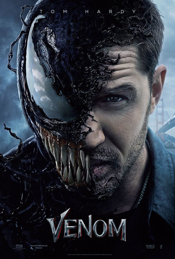 'Venom' is the titular characters first solo film from Sony Pictures.
