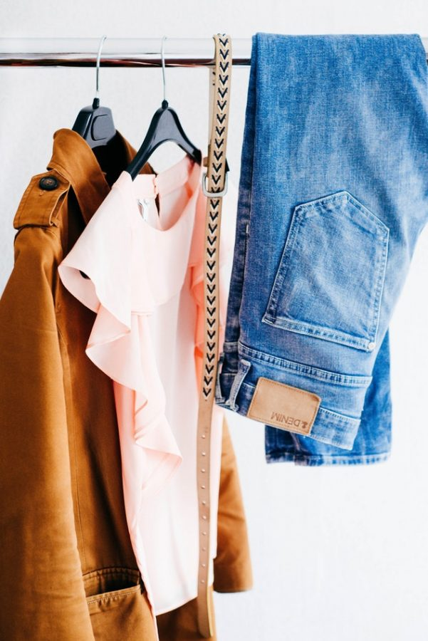 People empty out their closets of summer clothes and bring in the fall style