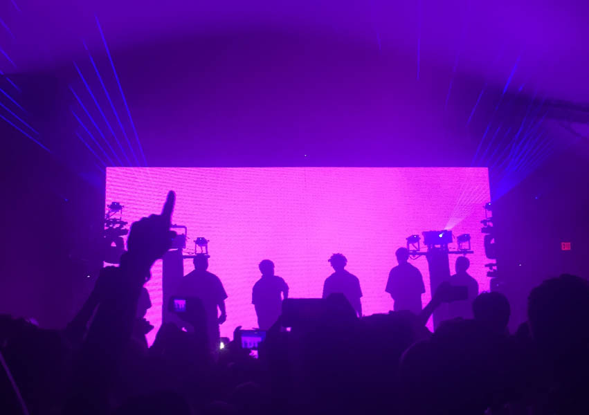 "On Oct. 6, Brockhampton performs at Stubb's Waller Creek Amphitheater in Austin. This concert was on their ""I'll Be There"" tour and part of the official 2018 ACL Fest Late Night Shows."