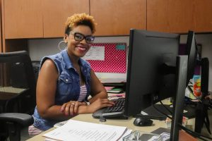 Shakeita Clayton joins the 2019-2020 IB staff.