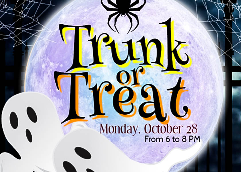 Trunk or Treat will be held Monday, Oct. 28 from 6-8 p.m. in the LHS front parking lot,