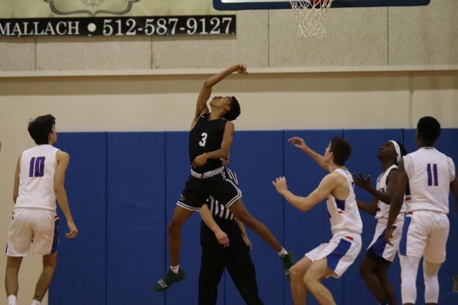 On Tuesday, Nov. 19, varsity boys' basketball lost 62-61 to Cedar Park.
