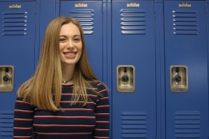 Junior Zoe Oliphint is the only girl member of the Robotics team.