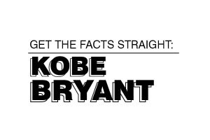 Get the facts straight: Kobe Bryant's death