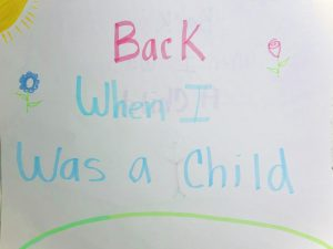 Ten weird things we all did as children.
